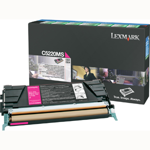 Original Lexmark C5220MS Magenta Toner Cartridge