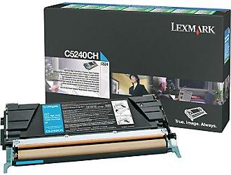 Original Lexmark C5240CH Cyan Toner Cartridge