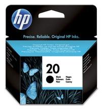 Original HP 20 Black Ink Cartridge (C6614NE)