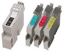 Compatible Epson T0321/T0322/T0323/T0324 Cartridges Full Set