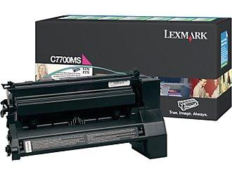 Original Lexmark C7700MS Magenta Toner Cartridge