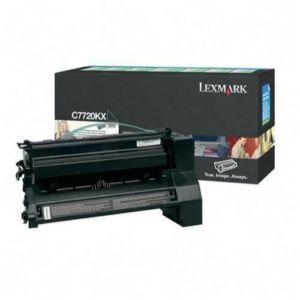 Original Lexmark C7720KX Black Toner Cartridge