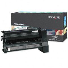 Original Lexmark C780A1KG Black Toner Cartridge