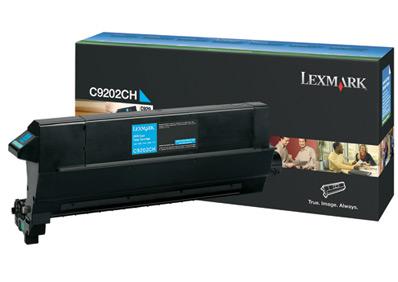 Original Lexmark C9202CH Cyan Toner Cartridge