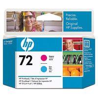 Original HP  72 Magenta and Cyan printhead