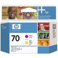 Original HP 70 Magenta and Yellow Printhead