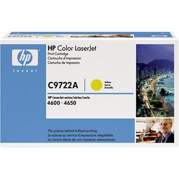 Original HP C9722A Yellow Toner Cartridge