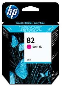 Original HP No.82 Magenta Ink Cartridge (CH567A)