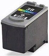 Remanufactured Canon CL-38 Colour Ink cartridge