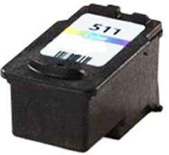 Remanufactured Canon CL-511 Colour Ink cartridge  High Capacity