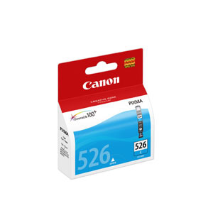 Original Canon CLI-526 Cyan Ink Cartridge