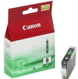 Original Canon CLI-8G Green Ink Cartridge