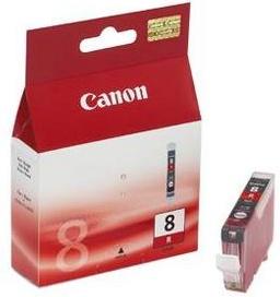 Original Canon CLI-8R Red Ink Cartridge