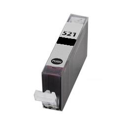Compatible Canon CLI-521BK Black Ink Cartridge