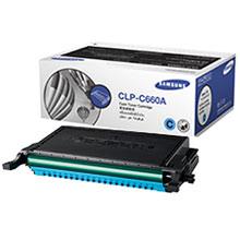 Original Samsung CLPC660A Cyan Toner Cartridge