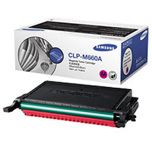 Original Samsung CLPM660A Magenta Toner Cartridge