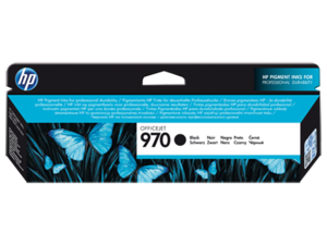 Original HP 970 Black Ink Cartridge (CN621AE)