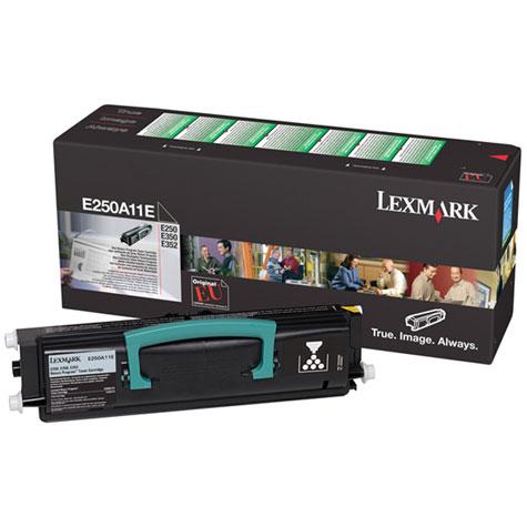 Original Lexmark E250A11E Black Toner Cartridge