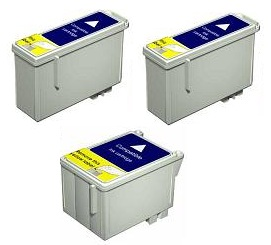 Compatible Epson T026 Black and T027 Colour Ink Cartridge + EXTRA BLACK