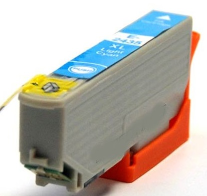 Compatible Epson 24XL Light Cyan Ink cartridge High Capacity (T2435)
