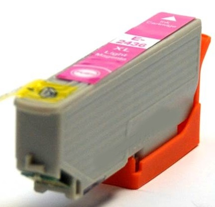 Compatible Epson 24XL Light Magenta Ink cartridge High Capacity (T2436)
