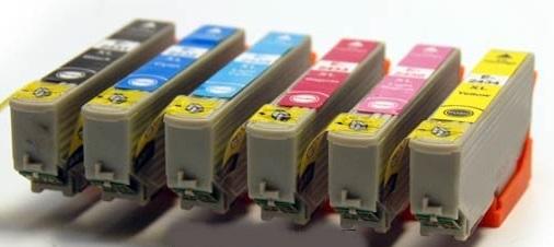 Original Epson 24XL a set of 6 Ink Cartridges Multipack (T2438)