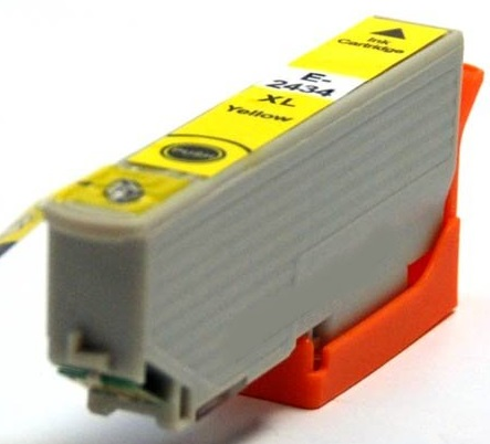 Original Epson 24XL Yellow Ink Cartridge High Capacity (T2434)
