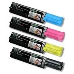 Compatible Epson S050190, S050189, S050188, S050187 a Set of 4 Toner Cartridges