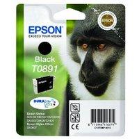 Original Epson T0891 Black Ink cartridge