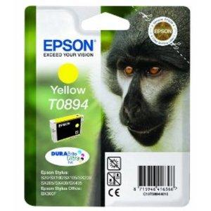 Original Epson T0894 Yellow Ink cartridge