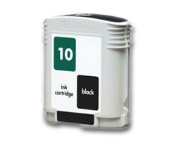 Compatible HP 10 (C4844A) High Capacity Black Ink cartridge