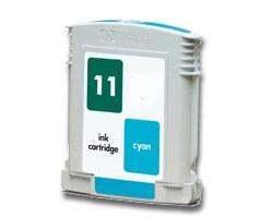 Compatible HP 11 (C4836AN) High Capacity Cyan Ink cartridge
