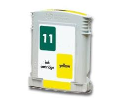 Compatible HP 11 (C4838AN) High Capacity Yellow Ink cartridge
