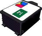 Remanufactured HP 14 (C5010) High Capacity Colour  Ink cartridge