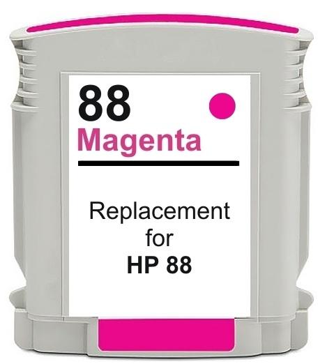 Compatible HP 88 XL Magenta Ink cartridge