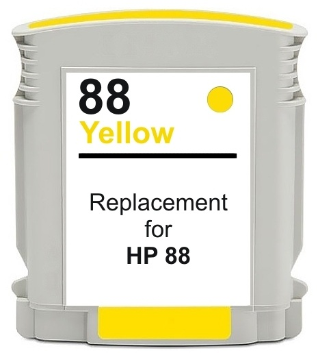 Compatible HP 88XL Yellow Ink cartridge