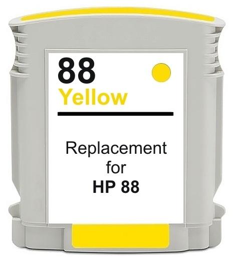 Original HP 88XL Yellow Ink Cartridge C9393AE