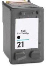 Remanufactured HP 21 (C9351AE) High Capacity Black  Ink cartridge (Has 3 x More Ink Than The Originals)