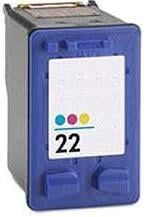 Remanufactured HP 22 (C9352AE) High Capacity Colour Remanufactured Ink Cartridge (Has 3 x More Ink Than The Originals)