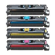 Compatible HP Q3960A, Q3961A, Q3962A, Q3963A a Set of 4 Toner Cartridges