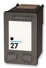 Remanufactured HP 27 Black High Capacity Ink cartridge  (C8727AN)