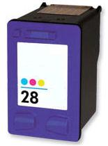 Remanufactured HP 28 Colour High Capacity Ink cartridge (C8728AN)