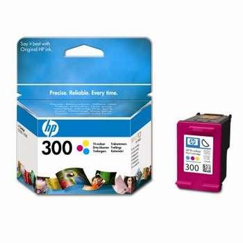 Original HP 300 Colour  Ink cartridge (CC643EE )