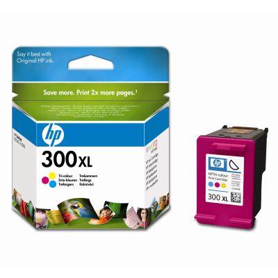 Original HP 300 XL High Capacity Colour Ink cartridge (CC644EE )