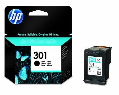 Original HP 301 Black  Ink cartridge (CH561EE)  Standard Capacity