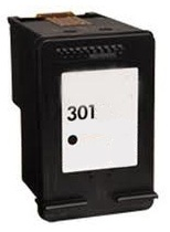 Remanufactured HP 301 (V1) Black Ink Cartridge High Capacity (CH561EE). For Use With Newly Released HP Printer Models