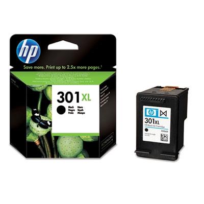 Original HP 301XL Black Ink Cartridge High Capacity (CH563EE)