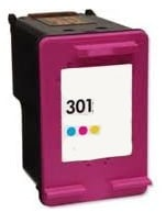 Remanufactured HP 301 (V1) Colour Ink Cartridge High Capacity (CH562EE). For Use With Newly Released HP Printer Models