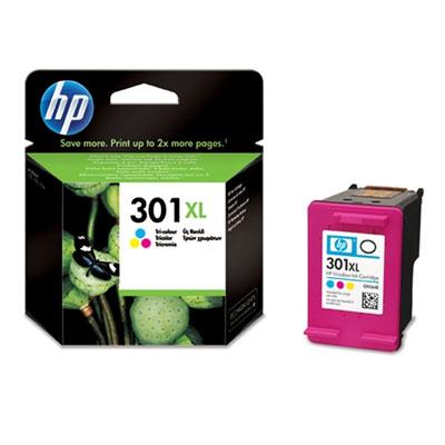 Original HP 301XL Colour Ink Cartridge High Capacity (CH564EE )