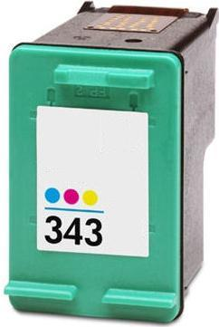 Remanufactured HP 343 (C8766EE) High Capacity Colour  Ink cartridge